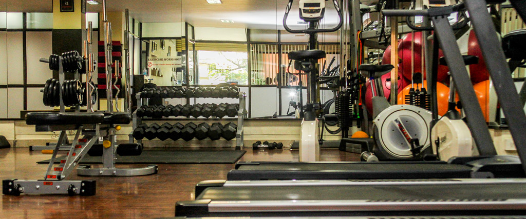 A Fully Equipped Exercise Workshop