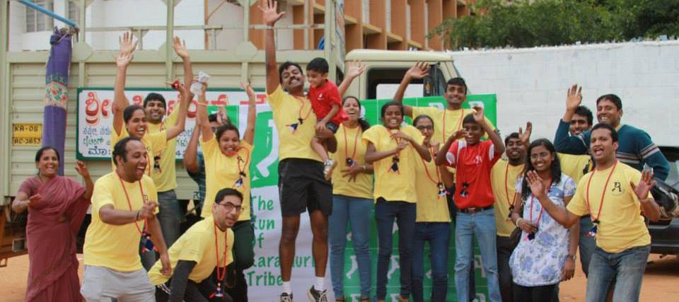 Attitude Prime team celebrating the success of raramuri run event