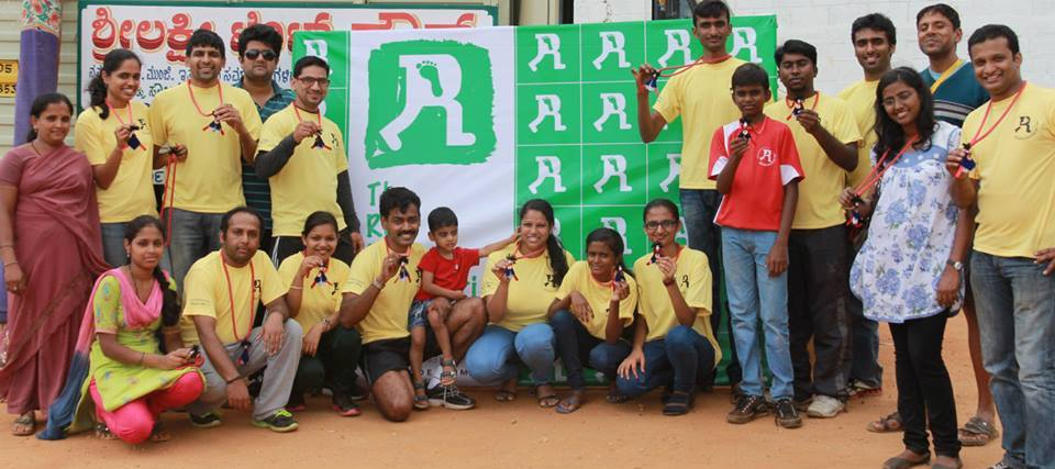 Attitude Prime team showcasing their medal at the end of the raramuri run event